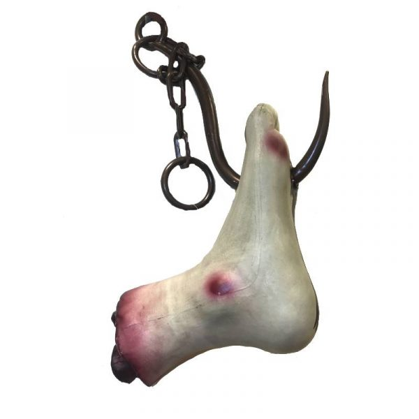 "24"" Costume Hanging Meat Hook Foot"