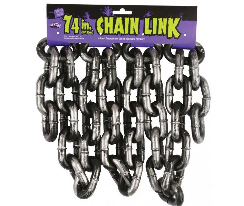 74 Inch Plastic Chain Link