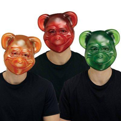 Goofy Gummy Bear Masks