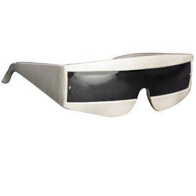 Costume Plastic Space Galaxy Eyeglasses