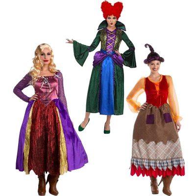 Hocus Pocus Witch Sisters