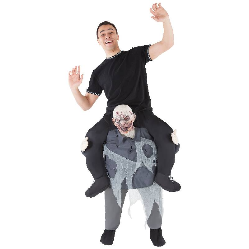 Piggyback Zombie Adult Costume