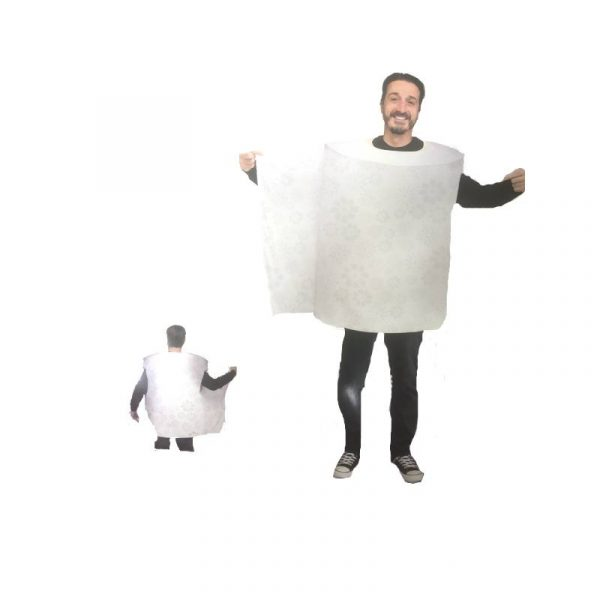 Roll of Toilet Paper Costume