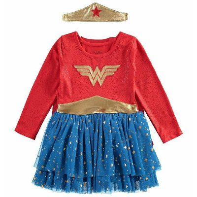 Wonder Woman Toddler Dress Costume