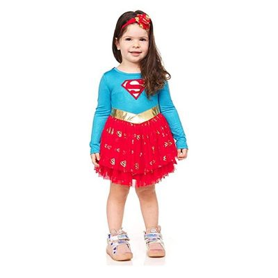 Super Girl Toddler Dress Costume
