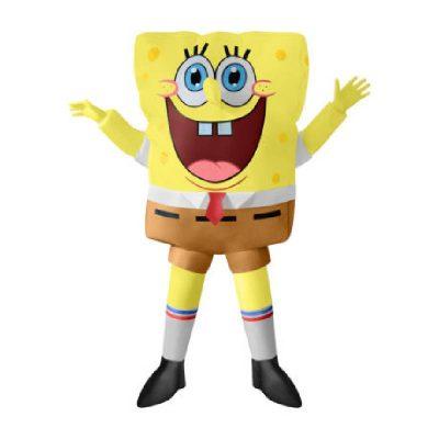 Inflatable Sponge Bob Childs Costume