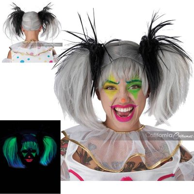 Glow-in-the-dark Punk Pig Tails
