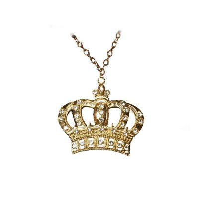 30290-costume-metal-crown-necklace-w-rhinestones