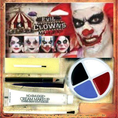 Evil Clowns Makeup Kit