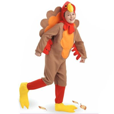 Child Plush Felt Turkey Costume