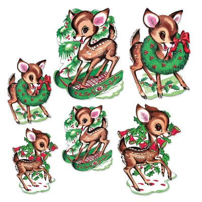 20054-reindeer-vintage-xmas-cutouts
