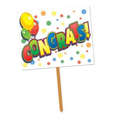 Congrats Yard Sign
