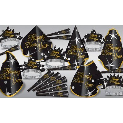 Shimmer New Years Eve Party Kit for 10