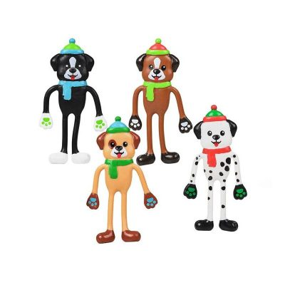 ZC-BENPU-4.5-inch-bendable-puppy-group