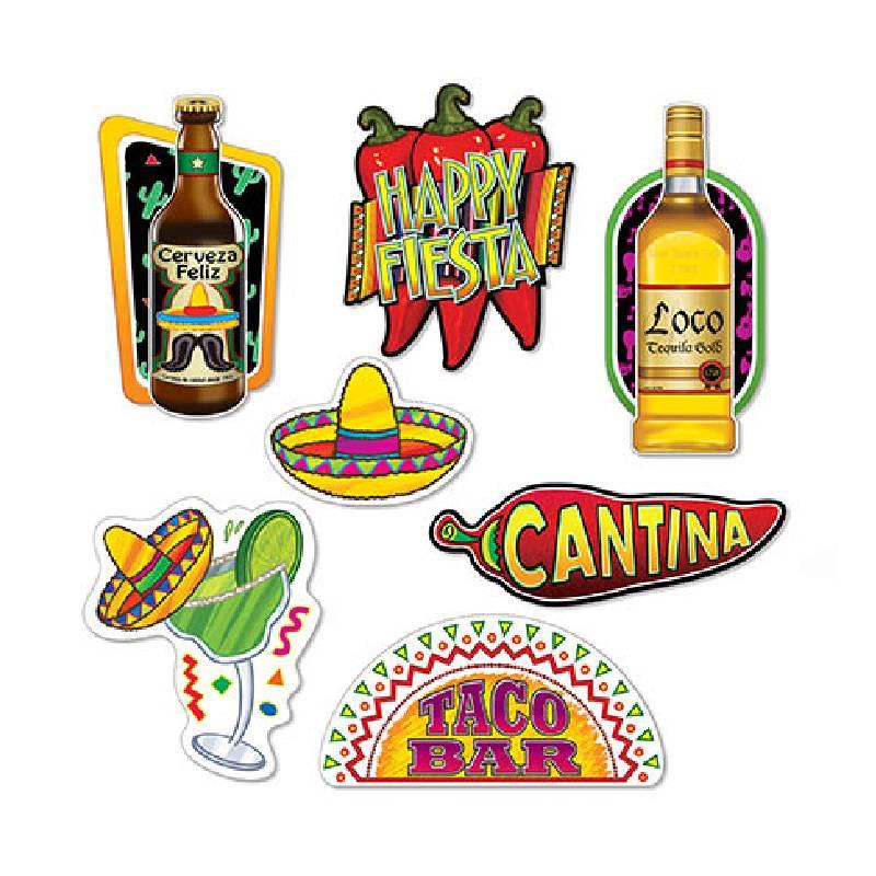 Fiesta Cutouts - Cinco de Mayo