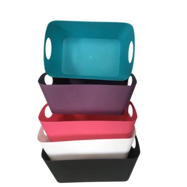 Rectangular Plastic Basket