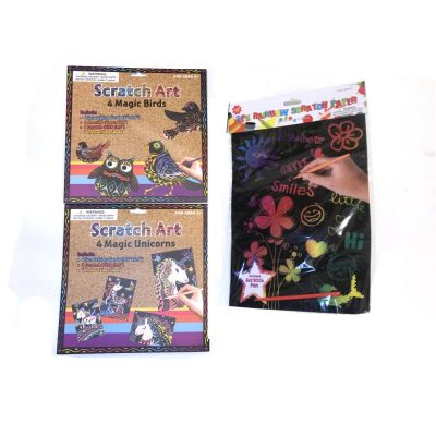 Scratch Art Kits
