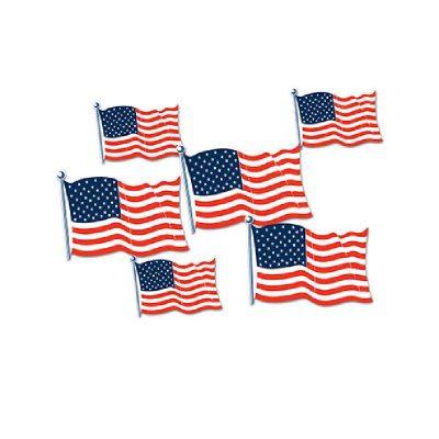 American Flag Cutouts