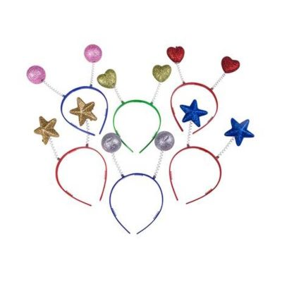 Party Glittered Head Boppers
