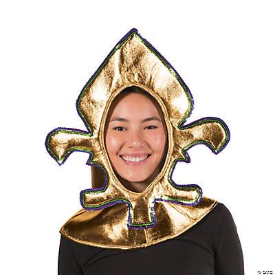 Fleur de Lis Headpiece Hood