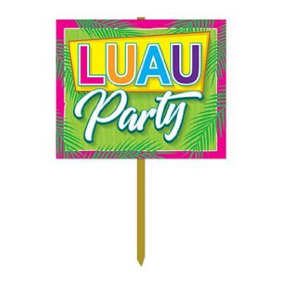 Luau Party Yard Sign