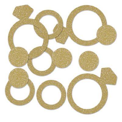 Diamond Ring Deluxe Sparkle Confetti