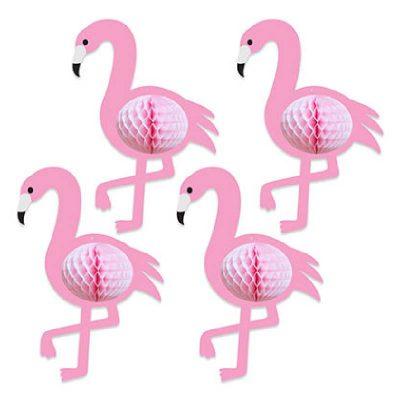 Tissue Flamingos