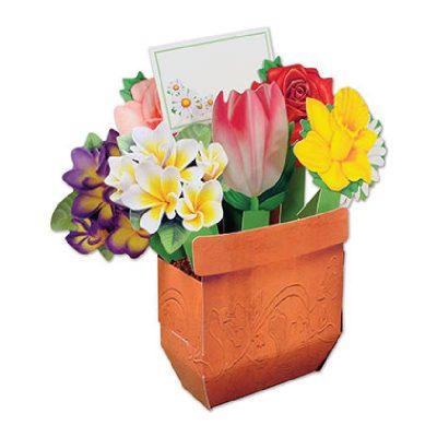 3-D Cheery Bouquet Centerpiece