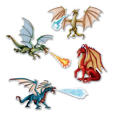 Dragon Cutouts