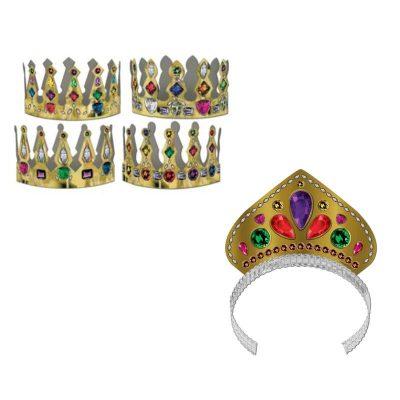 Printed Jewel Crown or Tiara