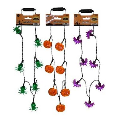 Multi-Function Light-Up Halloween Necklace