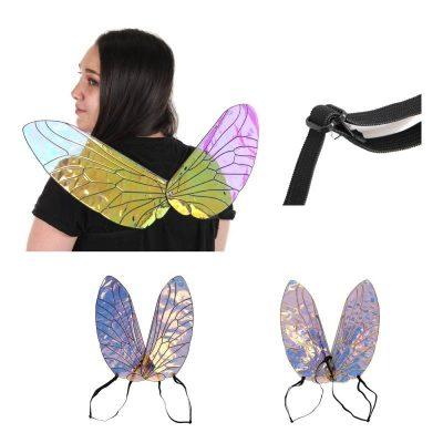 Vinyl Holographic Bee Wings