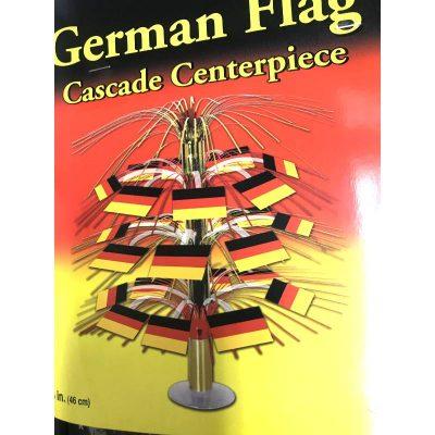 German Flag Cascade Centerpiece