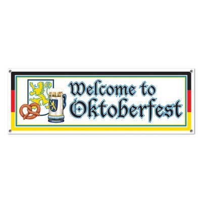 Welcome to Oktoberfest Banner