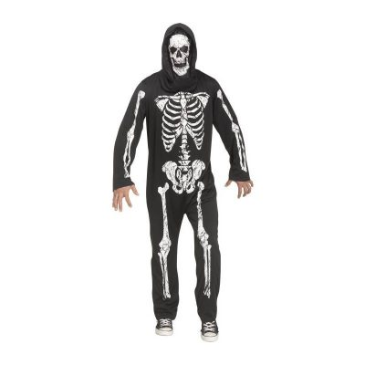 Skeleton Jumpsuit- Adult Size