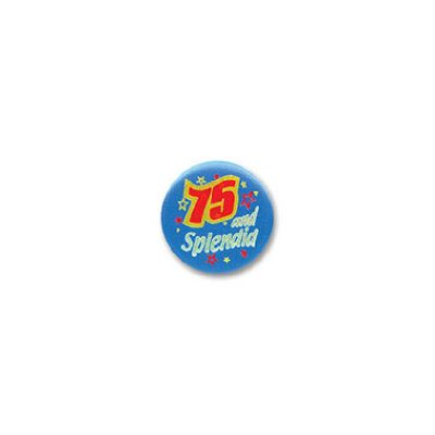 75 and Splendid Satin Button