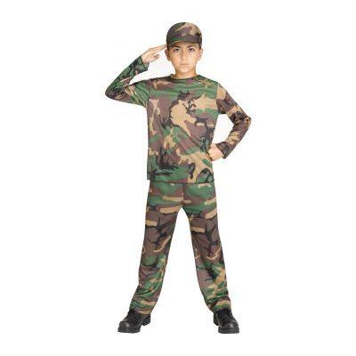 Camo Complete Childs Costume
